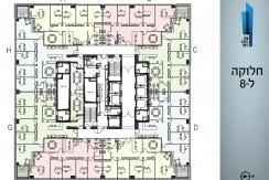 """למכירה 236 מ""""ר במגדל הכשרת הישוב"""